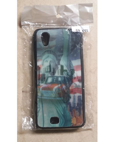 Gionee Ctrl V4S Designer US Flag Statue of Liberty Pattern Print Back Cover Case