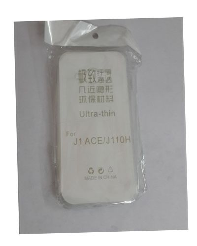 Samsung Galaxy J1 Ace TRANSPARENT SILICON SOFT RUBBER BACK COVER