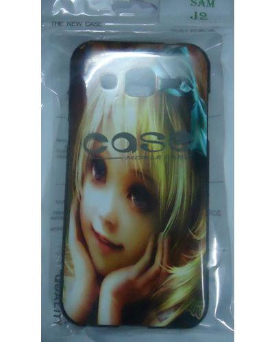 Samsung Galaxy J2 Pretty Doll Face Print Back Cover Case