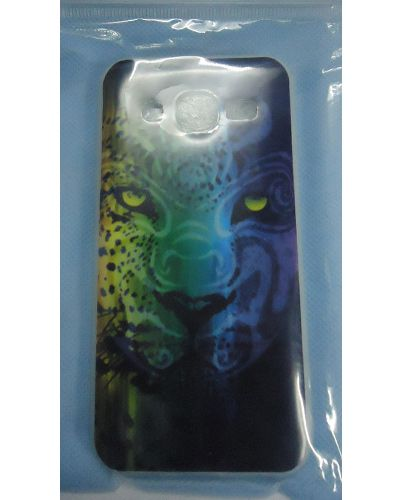 Samsung Galaxy J2 Leopard Face Print Back Cover Case