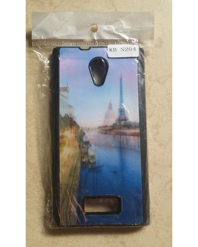 Karbonn Titanium Dazzle 3 S204 Beautiful Scenery With Eiffel Tower Back Cover Case