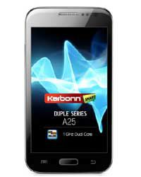 Touch Screen Glass for Karbonn A25