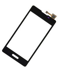 LG E450 Touch Screen Glass Black