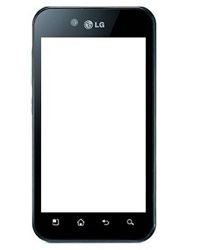 LG P970 Touch Screen Digitizer Glass Black
