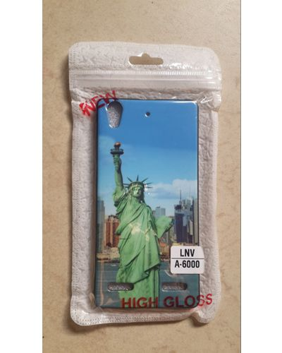 Lenovo A6000 Statue Of Liberty Printed Back over