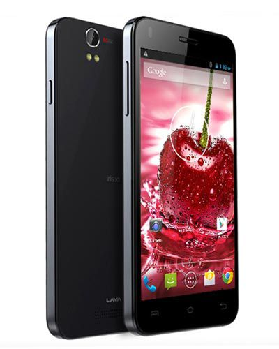 Lava Iris X1 LCD Display with Touch Screen Black