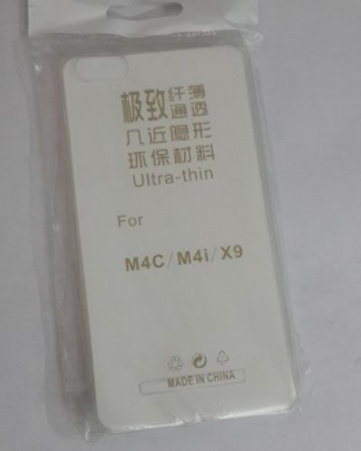 Xiaomi M4C TRANSPARENT SILICON SOFT RUBBER BACK COVER