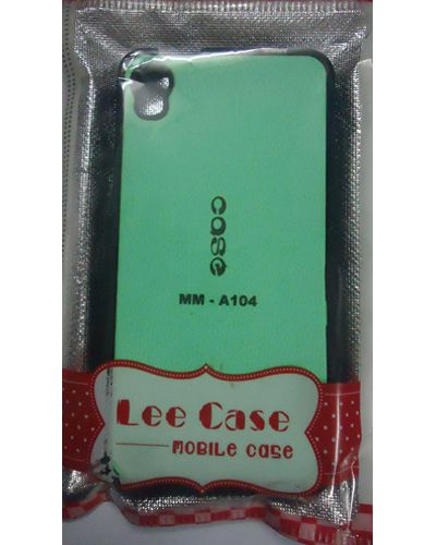 Micromax Canvas Fire A104 Stylish Designer Printed Back Case Cover Green With Black