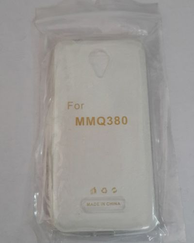 Micromax Canvas Spark Q380 TRANSPARENT SILICON SOFT RUBBER BACK COVER