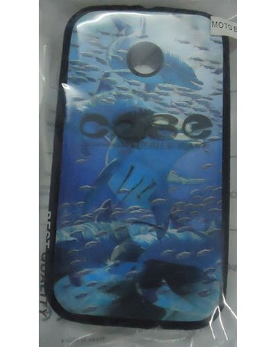 Motorola Moto E Fish Ocean Sea Underwater Print Back Cover