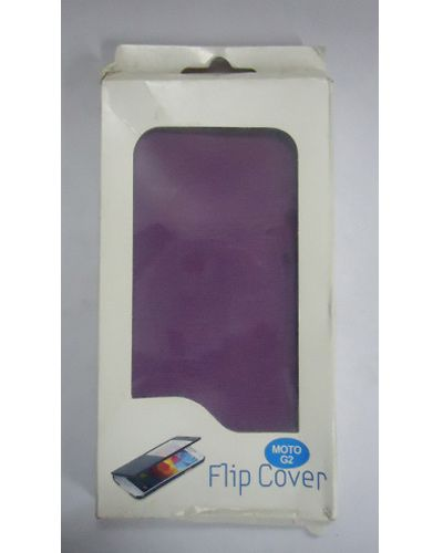 Motorola Moto G2 Stylish Flip Cover Purple
