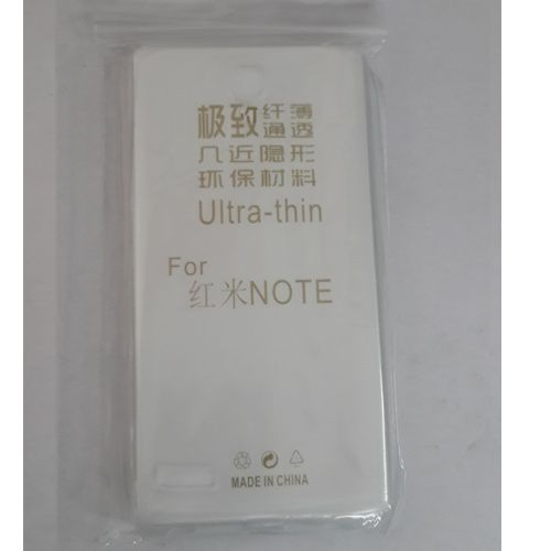 SAMSUNG GALAXY NOTE TRANSPARENT SILICON SOFT RUBBER BACK COVER