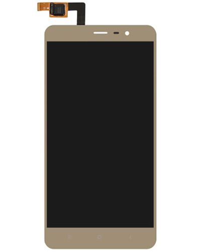 Xiaomi Redmi Note 3 LCD Display with Touch Screen Gold color