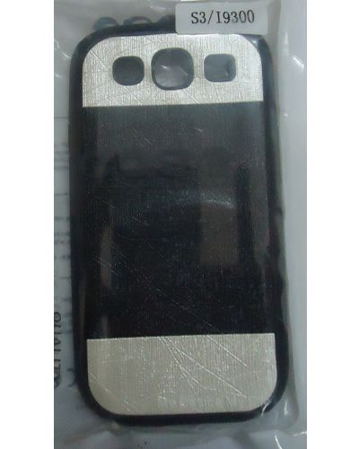 Samsung Galaxy S3 I9300 Designer Back Cover White With Black