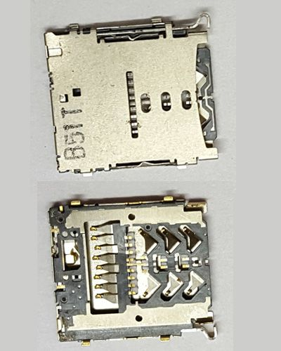 Samsung Galaxy A3 microSD Card slot SIM Card Reader Replacement Tray Stand