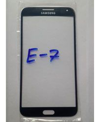 Replacement Front Glass digitizer for Samsung Galaxy E7 E700 Blue