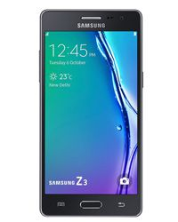 Lcd Display with Touch Screen for Samsung Z3 Black Color