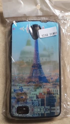 Intex Aqua Star Power Eifell Tower Back Case Cover