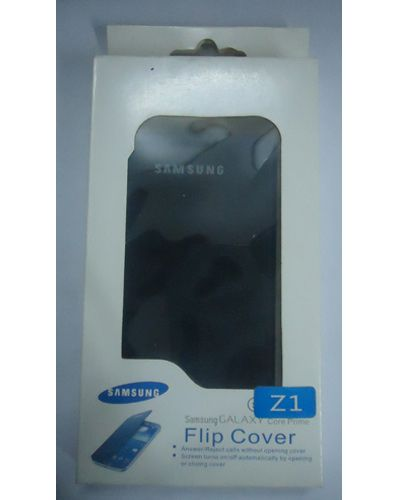 Samsung Galaxy Z1 Stylish Flip Cover Black