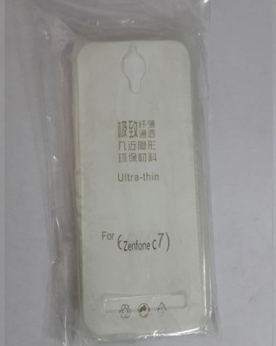 ASUS ZENFONE C7 TRANSPARENT SILICON SOFT RUBBER BACK COVER