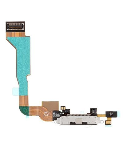 Apple iPhone 4 Charging Connector Flex Cable Black Color