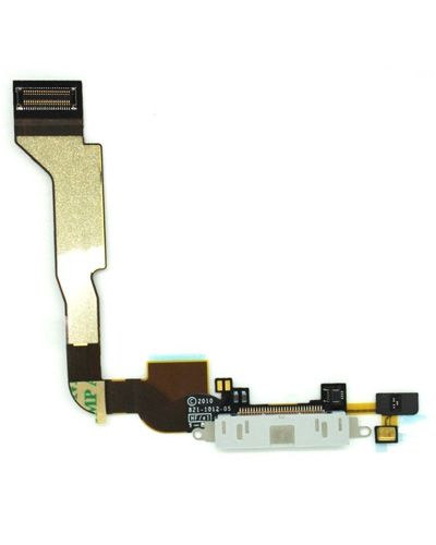 Apple iPhone 4 Charging Connector Flex Cable White Color