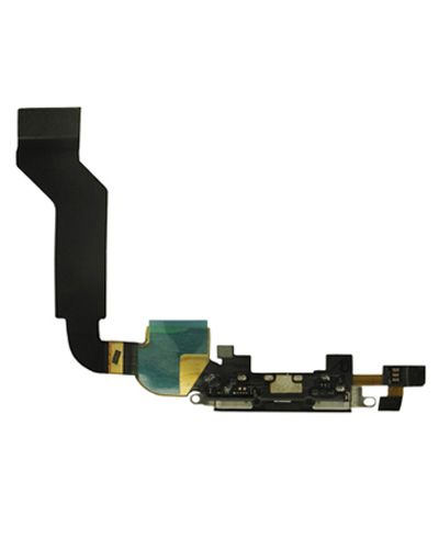 Apple iPhone 4S Charging Connector Flex Cable Black Color