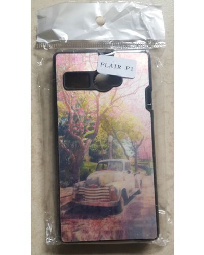 Lava Flair P1 Beautiful Spring season and Old Car Back Case Cover