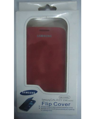 Samsung-G350 Galaxy Star Advance Flip Cover Red