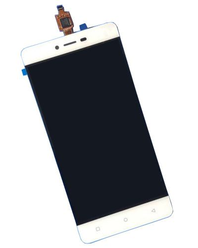 Gionee F103 LCD Display With Touch Screen White Color