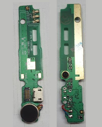 Gionee M2 Charging Mic Vibrator FPC - Mother board
