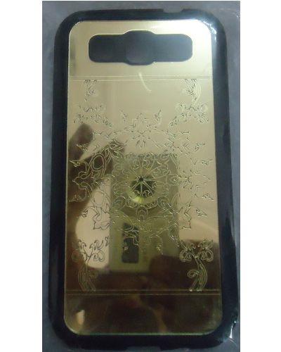 Samsung Galaxy Grand Quattro I8552 Back Cover Gold
