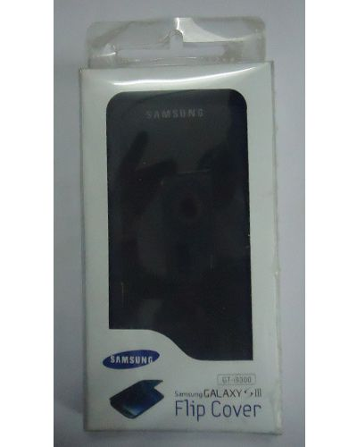 Samsung Galaxy S3 i9300 Flip Cover Black