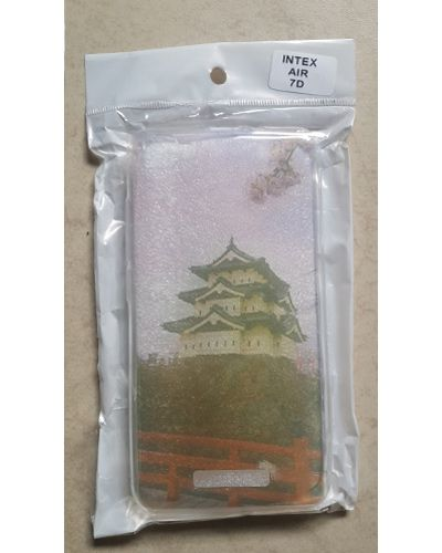 Intex Aqua Air Beautiful Hirosaki Castle Print Back Cover Case