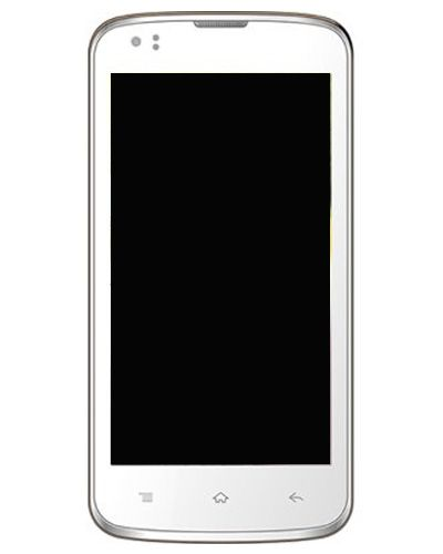 Intex Aqua Speed LCD Display with Touch Screen White color