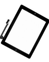iphone ipad 3 Touch Screen Digitizer Glass Black