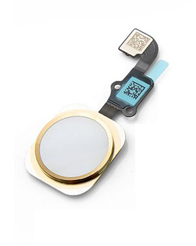 iPhone 6 Replacement Home Button with Fingerprint Sensor Gold Color