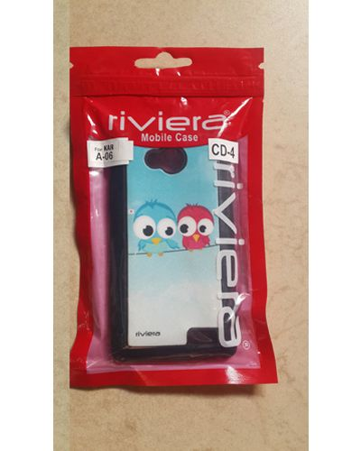 Karbonn A 06 Designer Love birds Print Back Cover Case