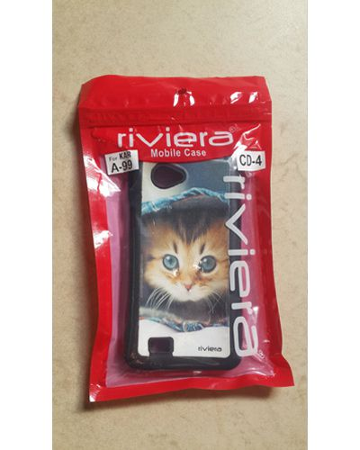 Karbonn A99 Cute Kitten Print Back Cover Case