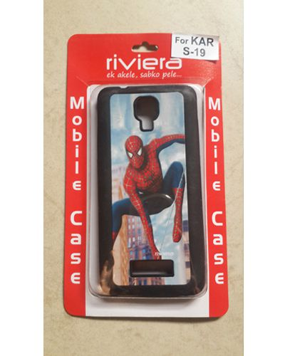 Karbonn Titanium S19 Spiderman Print Back Cover Case
