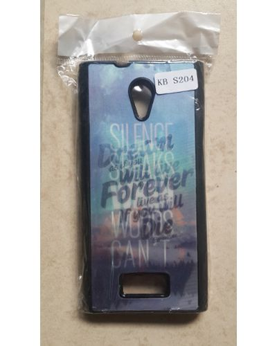 Karbonn Titanium Dazzle 3 S204 Inspiring Quote Back Cover Case