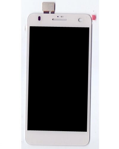 Lava iris X5 LCD Display with Touch Screen White Color