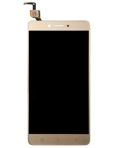 Lenovo K6 Note LCD Display with Touch Screen Gold color