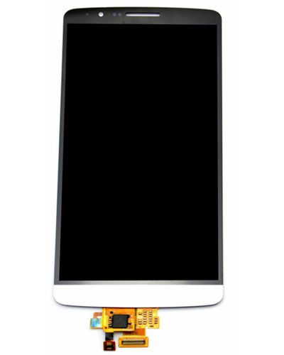 LG G3 LCD Display with Touch Screen Glass white