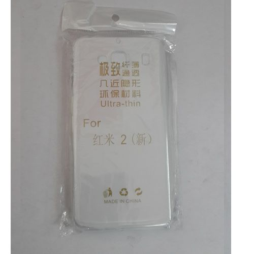 Xiaomi Mi2 TRANSPARENT SILICON SOFT RUBBER BACK COVER