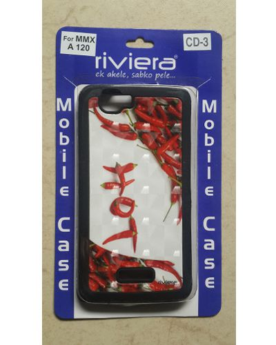 Micromax A120 Canvas 2 Red Chilli Print Back Cover Case