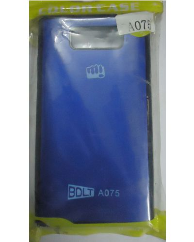 Micromax Bolt A075 Hard Back Cover Blue