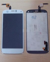 Micromax Canvas Turbo A250 LCD Display With Touch Screen Digitizer White