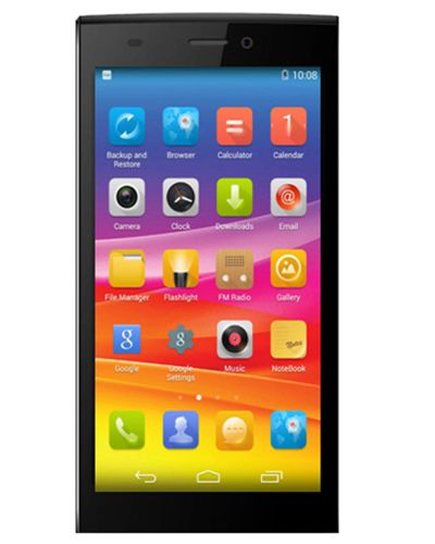 Micromax Canvas Nitro 2 E311 LCD Display with Touch Screen Black