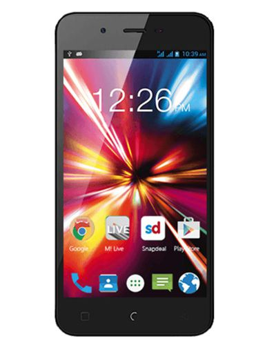Micromax Canvas Spark Q380 Touch Screen - Black